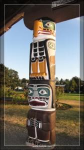 Totem Pole Vancouver Island